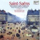 Saint-Saëns: Melodie sans Parole