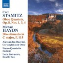 STAMITZ, C.: Oboe Quartets, Op. 8, Nos. 1, 3, 4 / HAYDN, M.: Divertimento in C major (Baccini)