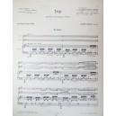Trio, Opus 30 - Pour Piano, Violon Et Alto Partiti