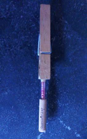 voorbeeld wasknijper op riet